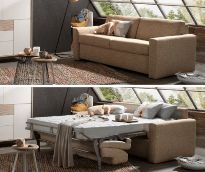 For sofa beds you can choose one of the options on the right